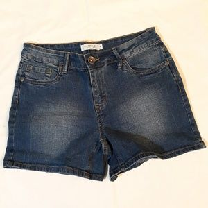 My Style Womens Blue Jean Shorts Size 6